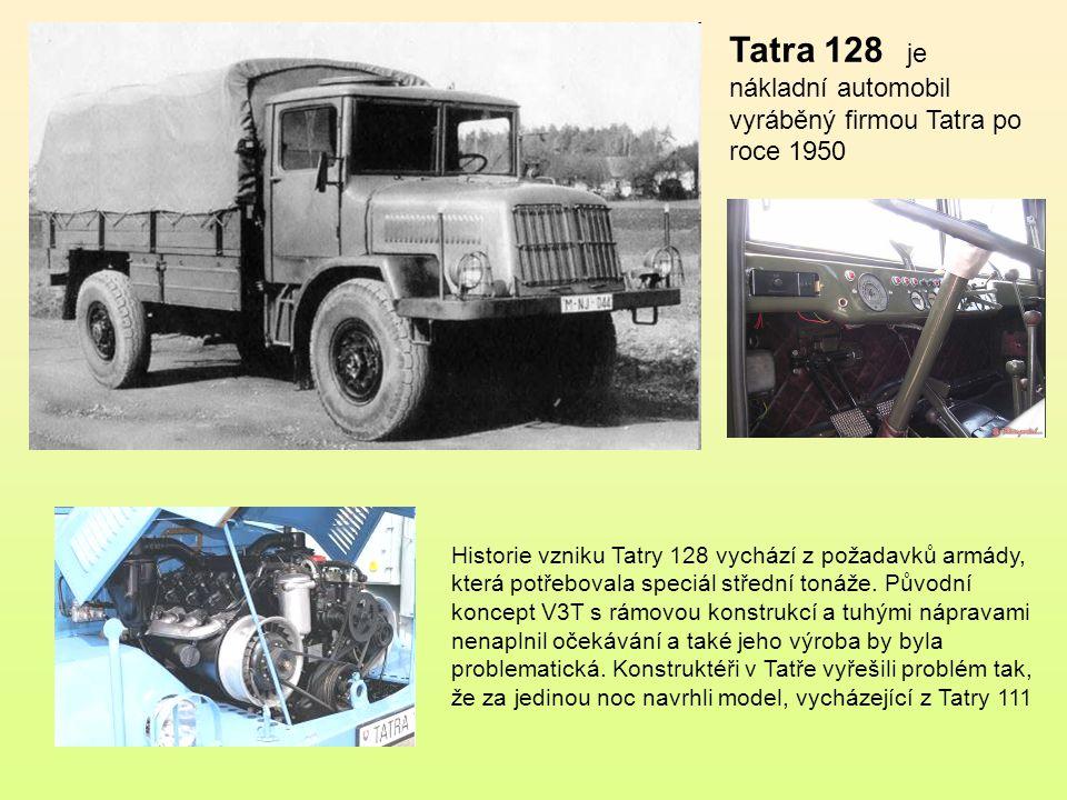 Tatra 111 je jedním z nejslavnějších nákladních automobilů značky Tatra, který si svou spolehlivostí a dobrými jízdními vlastnostmi v terénu rychle zí