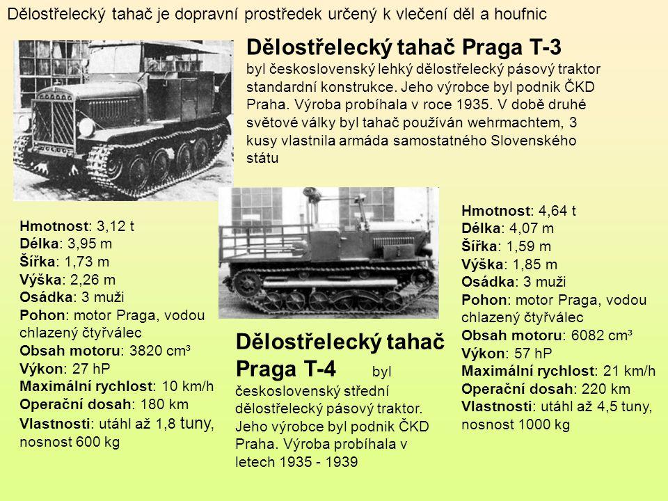 Dělostřelecký tahač Škoda MTH byl československý lehký pásový dělostřelecký traktor. Vyráběl se v letech 1935 - 1939 Hmotnost: 3,11 t Délka: 3,16 Šířk