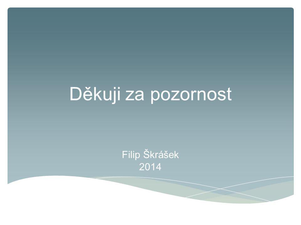 Děkuji za pozornost Filip Škrášek 2014