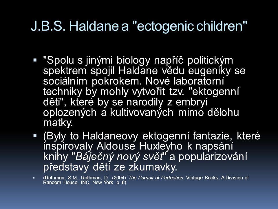 J.B.S. Haldane a