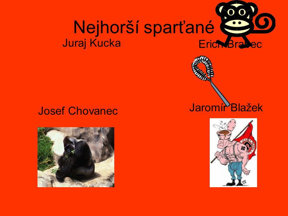 Nejhorší sparťané Juraj Kucka Erich Brabec Josef Chovanec Jaromír Blažek