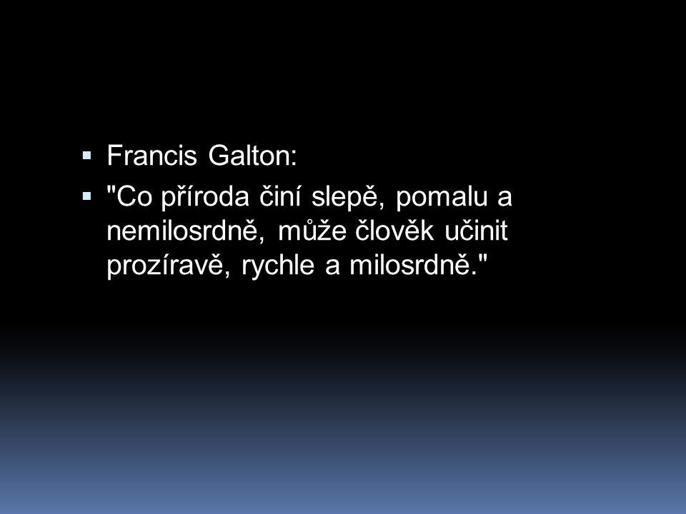  Francis Galton: 
