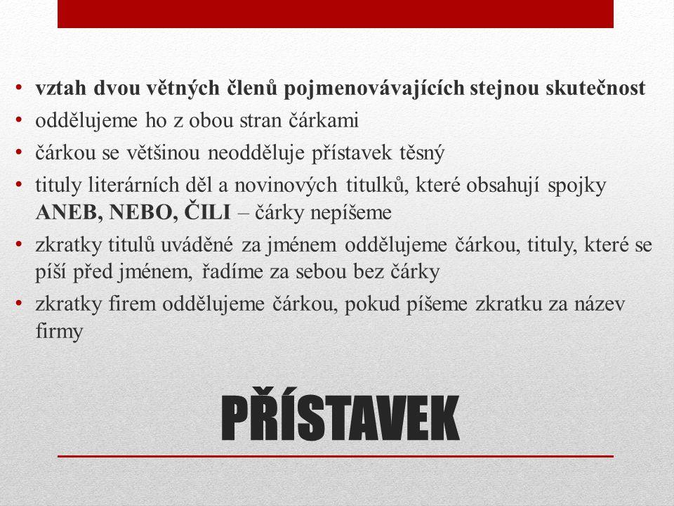 PŘÍSTAVEK Praha, hlavní město České republiky, se v poslední době hodně změnila.