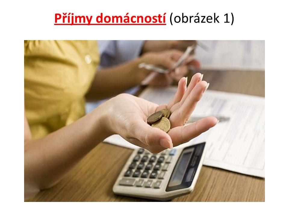Příjmy domácností (obrázek 1)