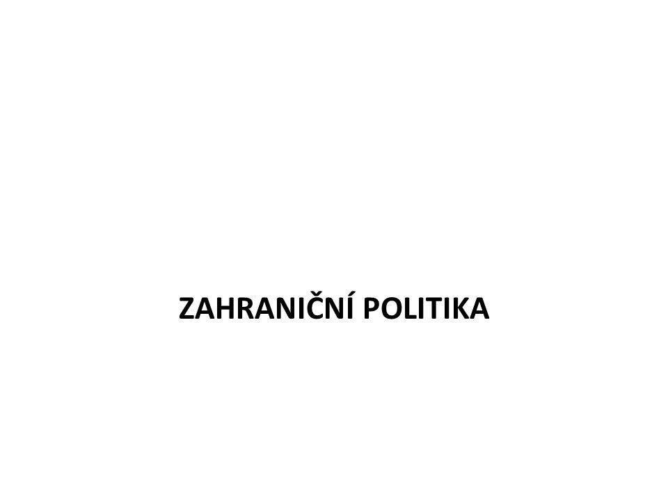 ZAHRANIČNÍ POLITIKA