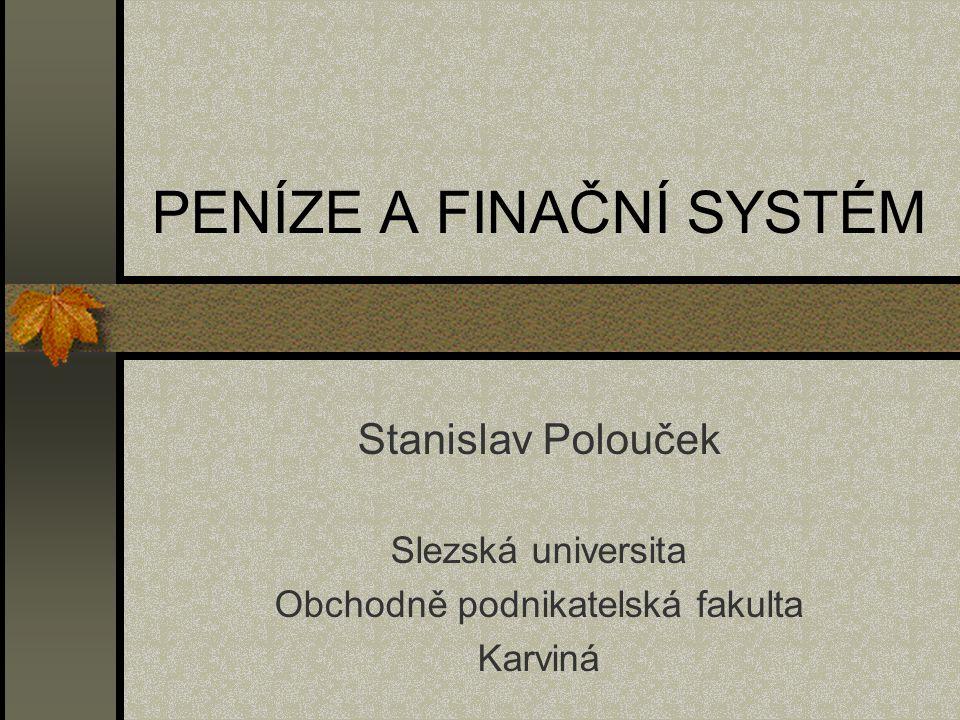 Struktura peněžního agregátu M 2 v České republice (prosinec 1999, v %)