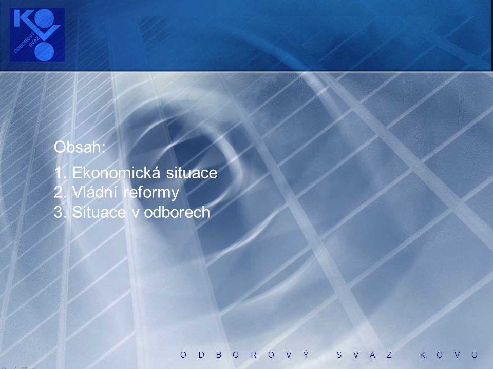 O D B O R O V Ý S V A Z K O V O Výsledky výzkumu Občané o hospodářské situaci ČR CVVM, prosinec 2012