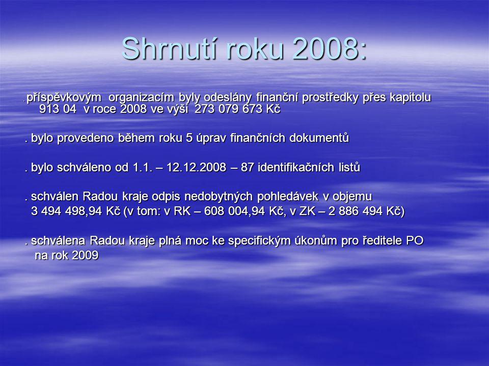 Shrnutí roku 2008:.