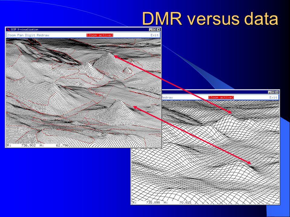 DEM – z družicových snímků DMR – z nadm. výšek DMR, DEM, DMT obr.