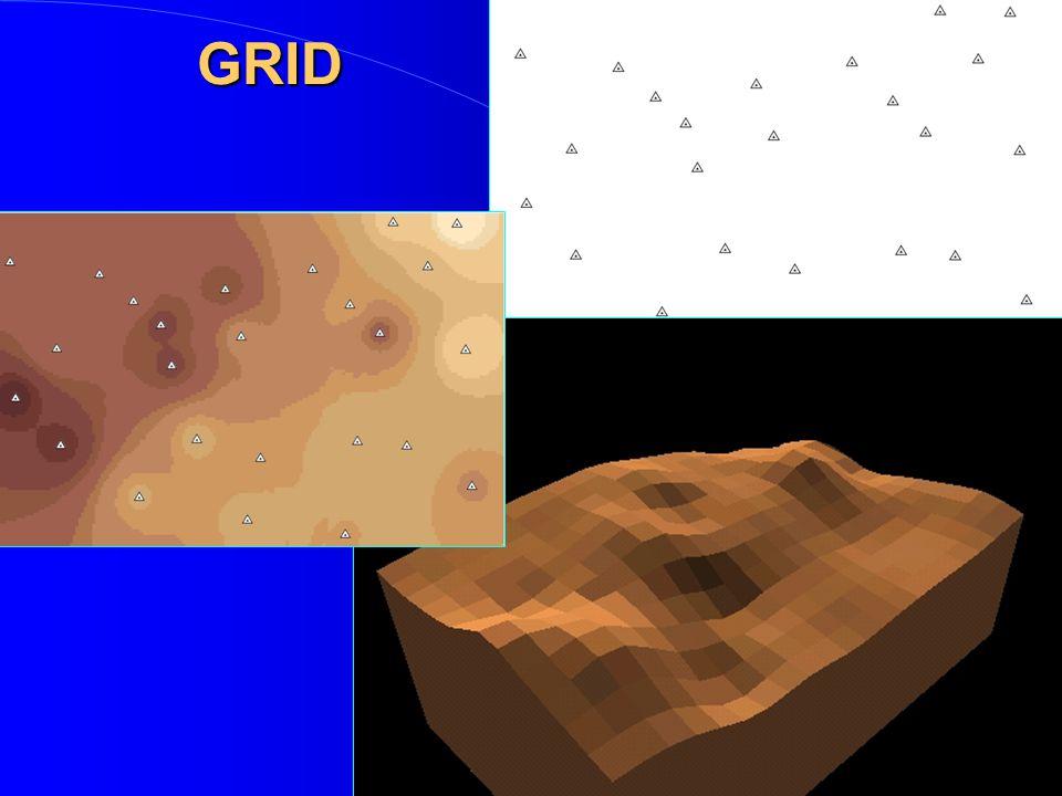 Digitální model povrchu - reprezentace GRID – rastrový TIN - vektorový