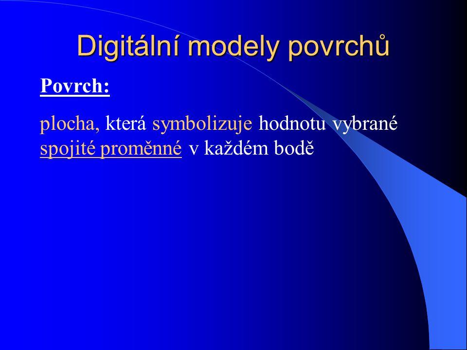Digitální modely povrchů