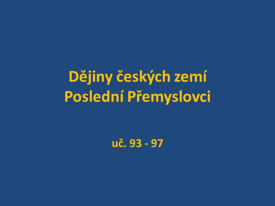 Opakování: Který český panovník získal dědičný královský titul.
