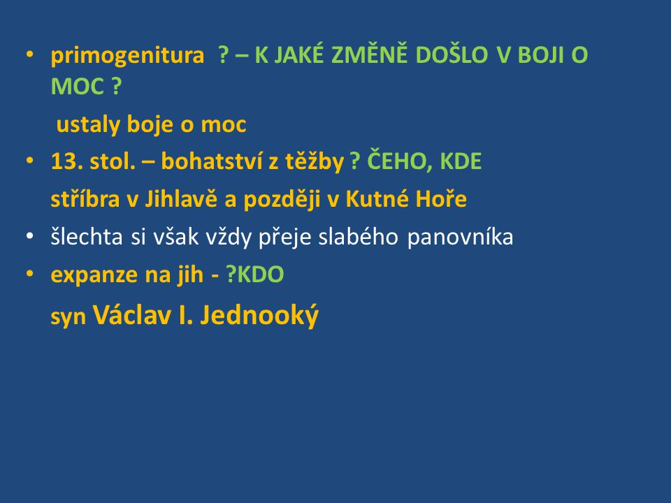 Jezdecký portrét Václav I.Jednooký zemřel 23.