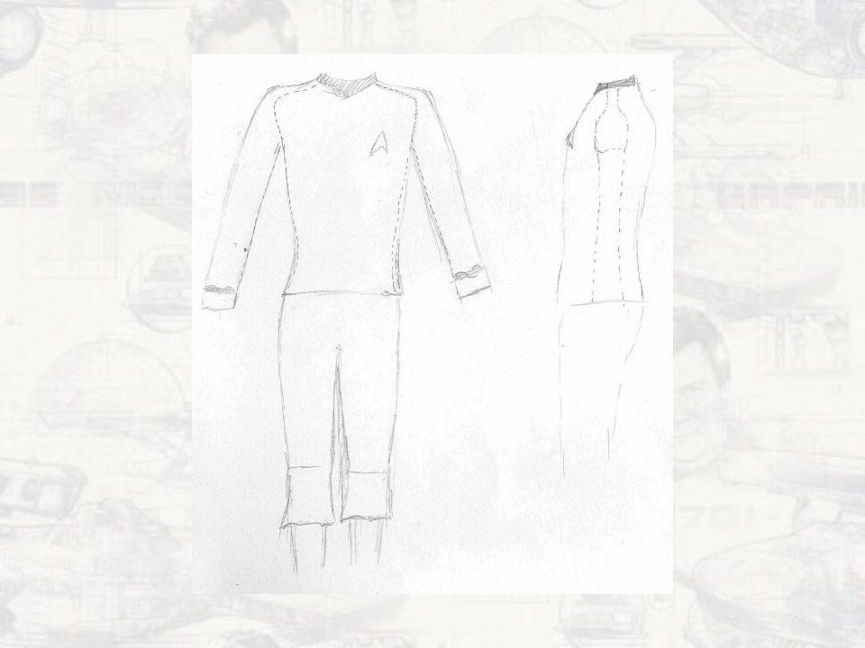 Mé uniformy Zatím jen dámské TOS 1.sezóna – rudá, nadporučík 3.sezóna – zlatá, kapitán