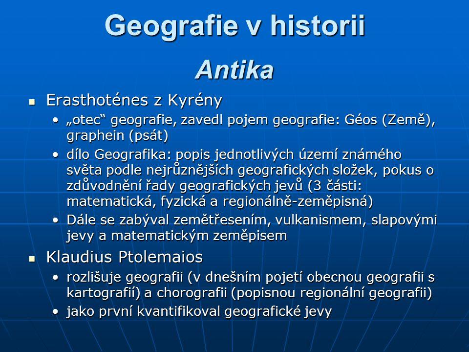 Moderní geografie po 2.