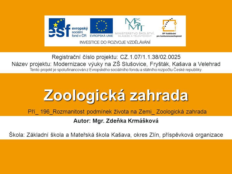 Musí mít vhodné zařízení na ustájení živočichů z pohledu jejich zdraví a vhodných životních podmínek Musí mít zavedené opatření k zabránění úniků živočichů Musí mít zajištěnu pravidelnou veterinární péči Provádí výchovu veřejnosti k ochraně přírody (zejména poskytováním informací o vystavených druzích, jejich přírodních stanovištích a úloze v ekosystémech) Musí se účastnit výzkumu prospěšného pro ochranu druhů Musí mít dostatek odborného personálu vzhledem k počtu chovaných živočichů Co musí Zoo splňovat: