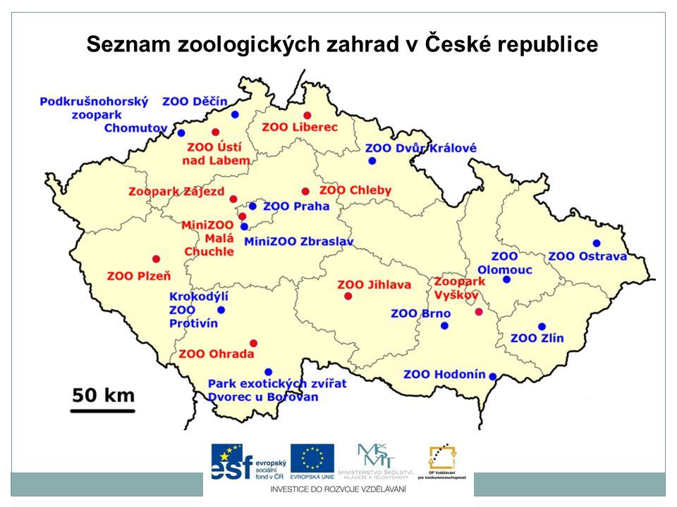Je nejstarší zoologická zahrada na českém území.Byla založena v roce 1919.