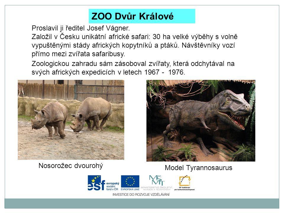 Zoo Plzeň Chová nejvíce druhů zvířat.Žije zde téměř 7 000 zvířat v 1 210 druzích.