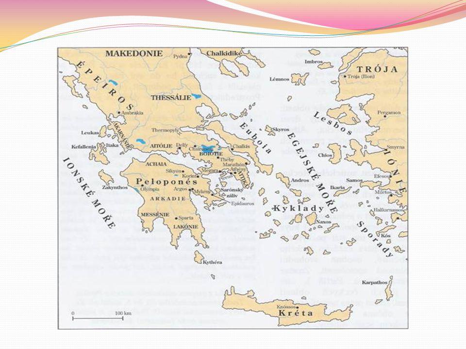 KRÉTA Největší řecký ostrov Leží ve Středozemním moři Má výhodnou polohu, proto tady začala vznikat nejstarší evropská civilizace v 2.