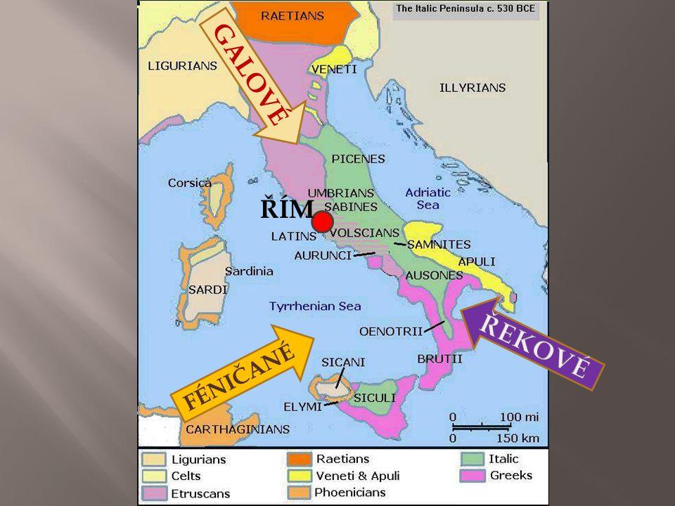  Pověst: dvojčata Romulus a Remus r.753 př. n. l.