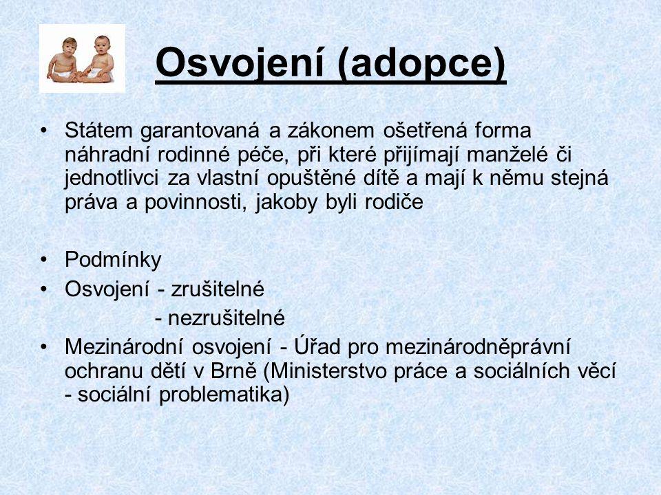Literatura, odkazy Z.Matějček a kol. - Náhradní rodinná péče.