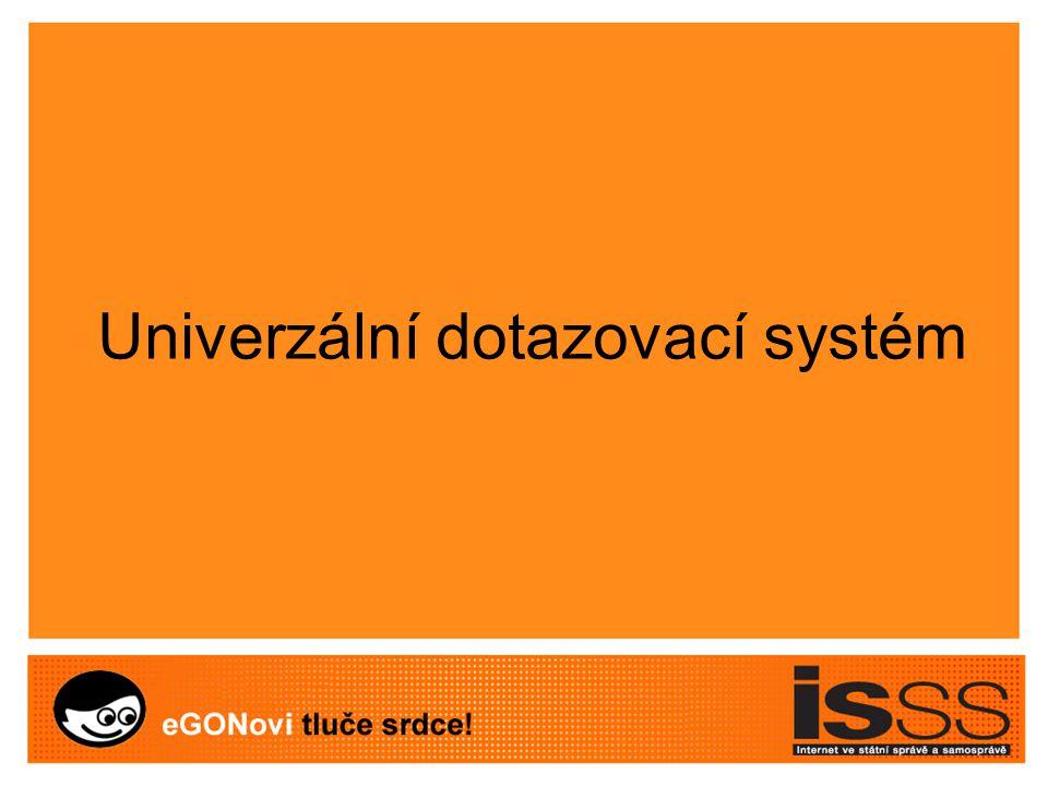 Univerzální dotazovací systém