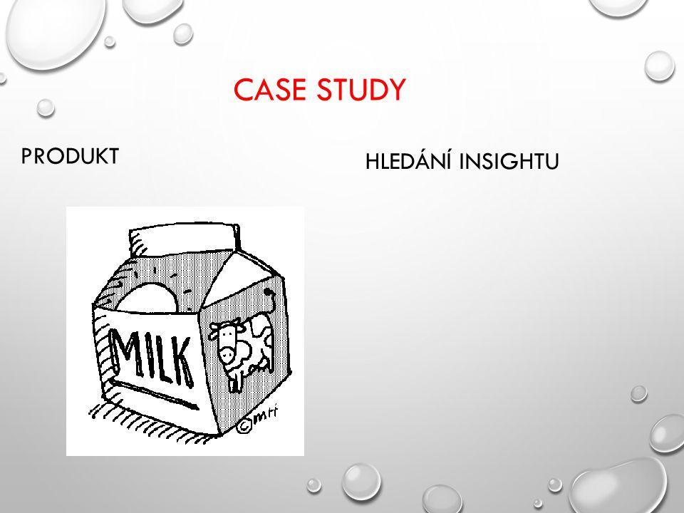 CASE STUDY PRODUKT HLEDÁNÍ INSIGHTU