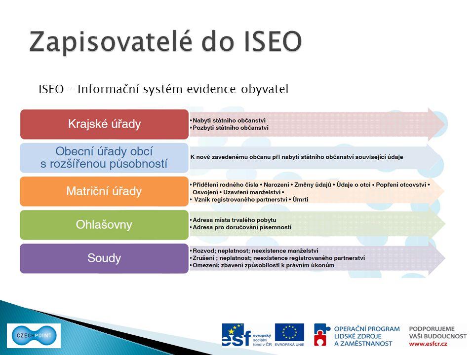 ISEO – Informační systém evidence obyvatel