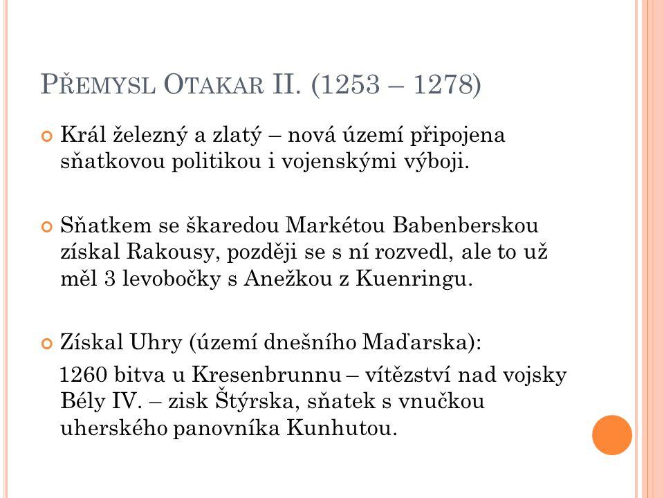 P ŘEMYSL O TAKAR II.