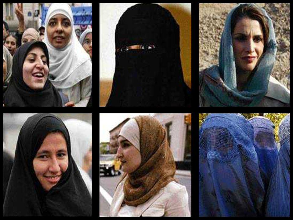 HIDŽÁB Charakteristický závoj arabských žen.