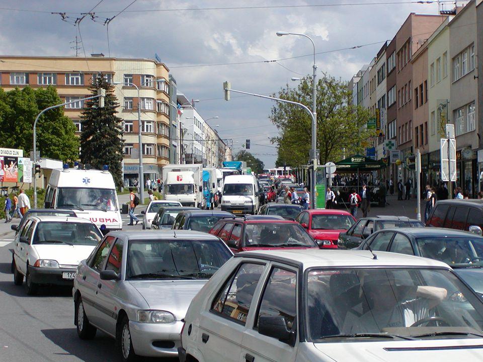 www.zlin.eu Situace cyklodopravy ve Zlíně