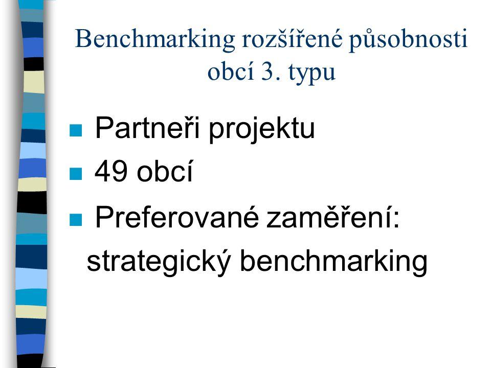 Benchmarking rozšířené působnosti obcí 3.