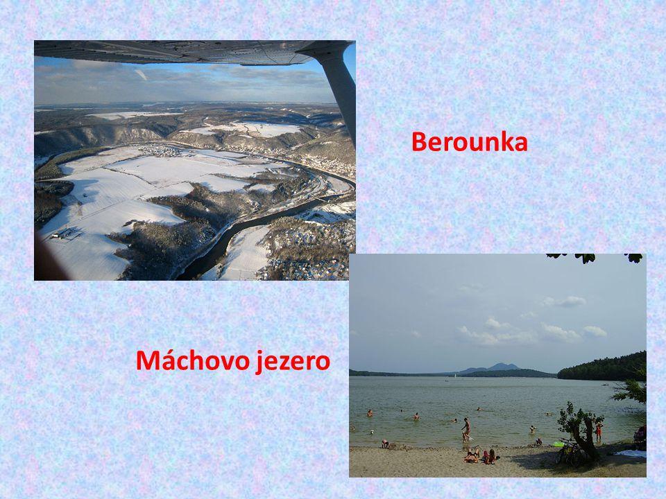 Berounka Máchovo jezero
