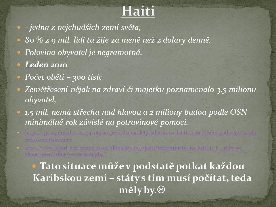 Rozdíl Velké a Malé Antily – v čem.Co mají společného.