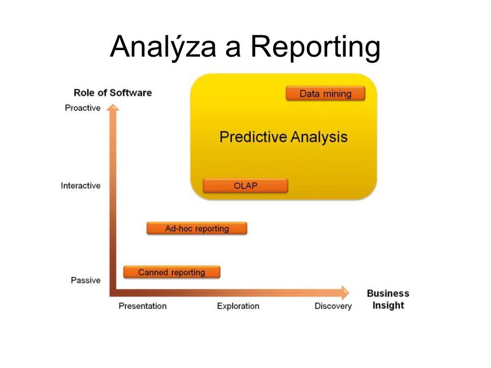 Analýza a Reporting