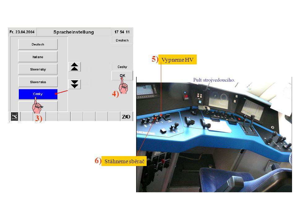 """Změna systému 7) 9) 8) 10) Přestavíme směr do """"0 Ve strojovně kontrola vzduchového panelu (vše svisle) El."""