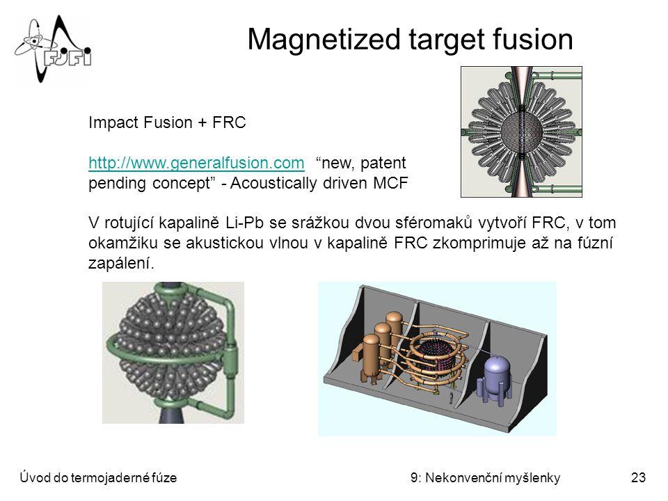 Úvod do termojaderné fúze9: Nekonvenční myšlenky24 Piezofúze a nanofúze Piezofúze – tvrzení, že v elektrodách dochází k intenzivnější studené fúzi v případě, že dojde k piezoelektrickému jevu.