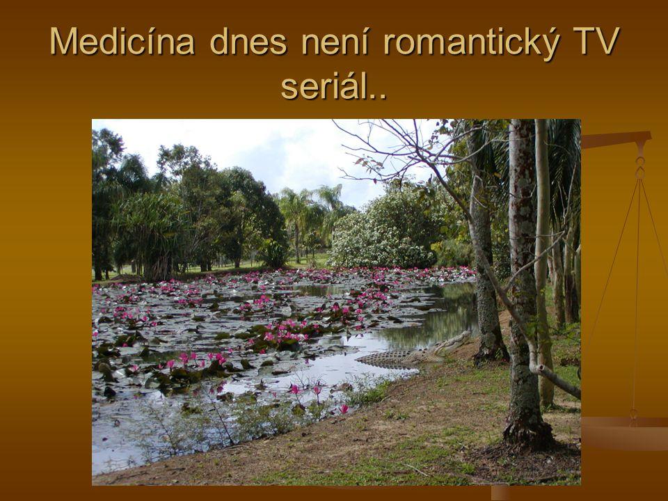 Medicína dnes není romantický TV seriál..