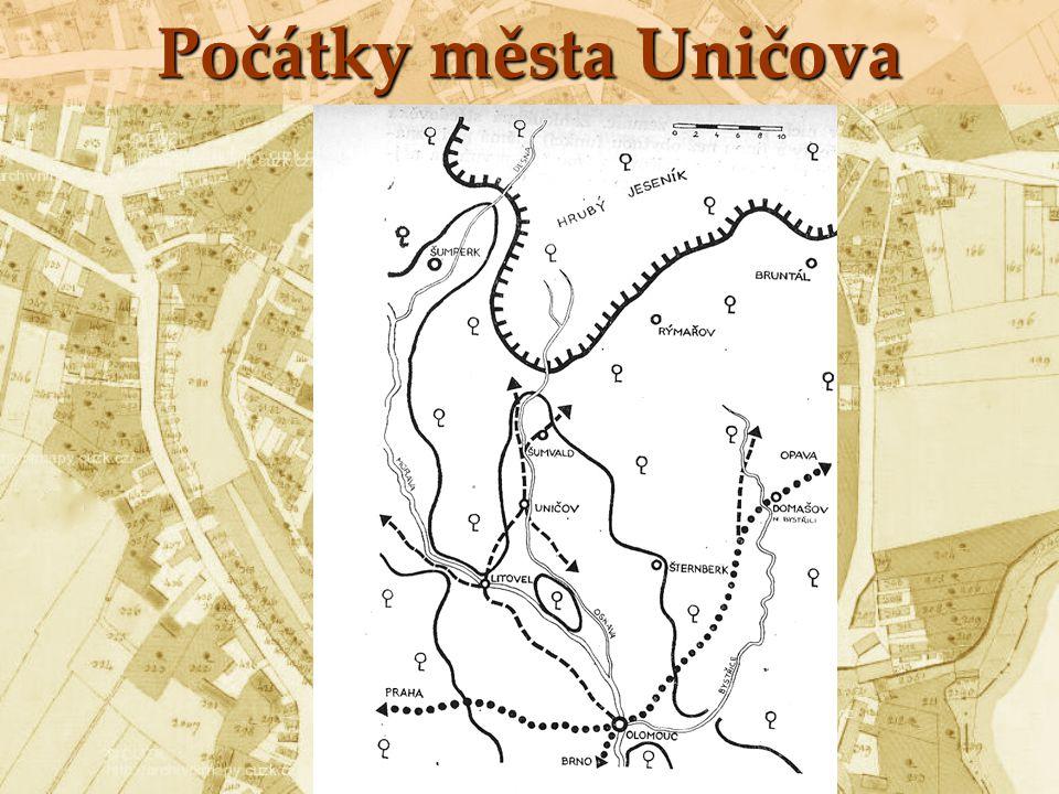 1213 – udělení městských privilegií králem Přemyslem Otakarem I.