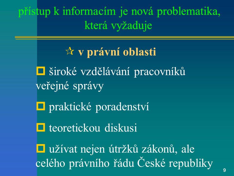 8 Soudní rozsudky podle zák. č. 106/99 Sb.