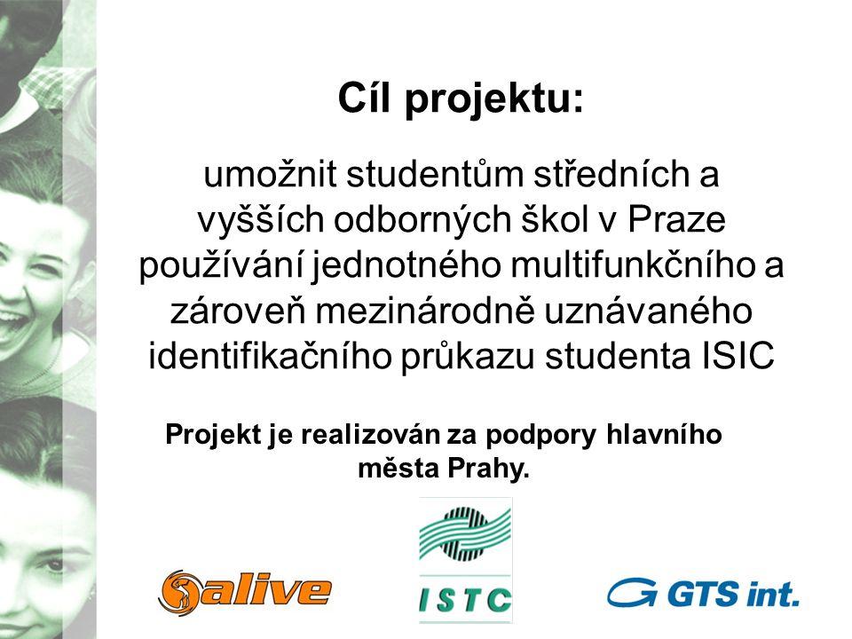 Stručná rekapitulace projektu: září-prosinec 2005 pilotní účast v projektu potvrdilo prvních pět středních škol leden 2006 setkání zástupců hl.m.