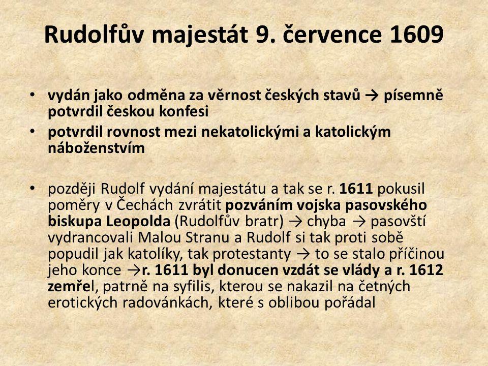 Rudolfův majestát 9.