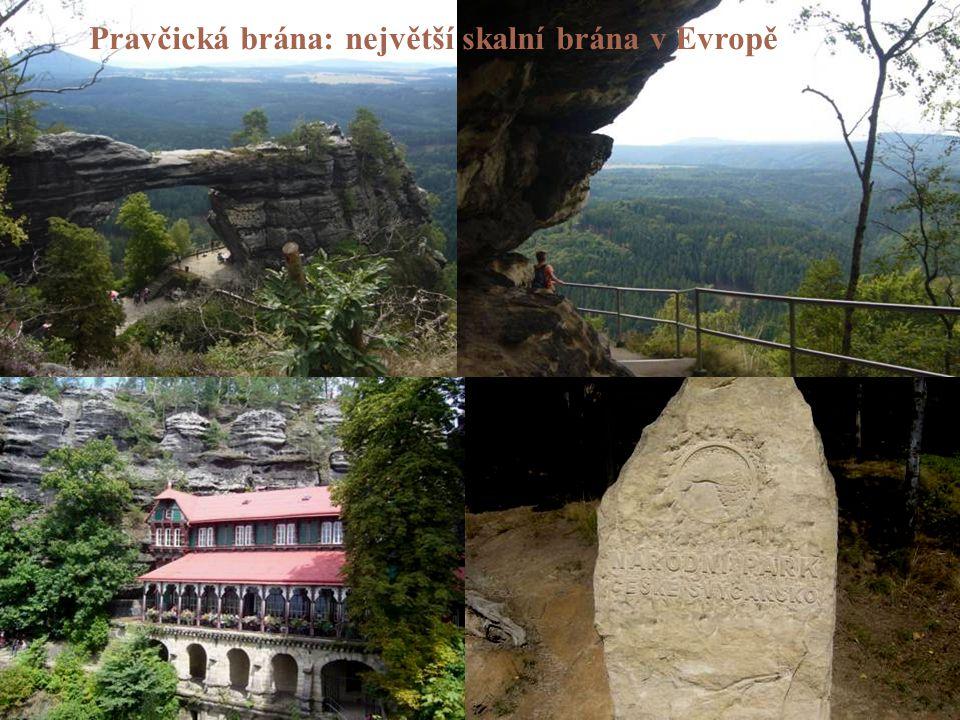 Pravčická brána: největší skalní brána v Evropě