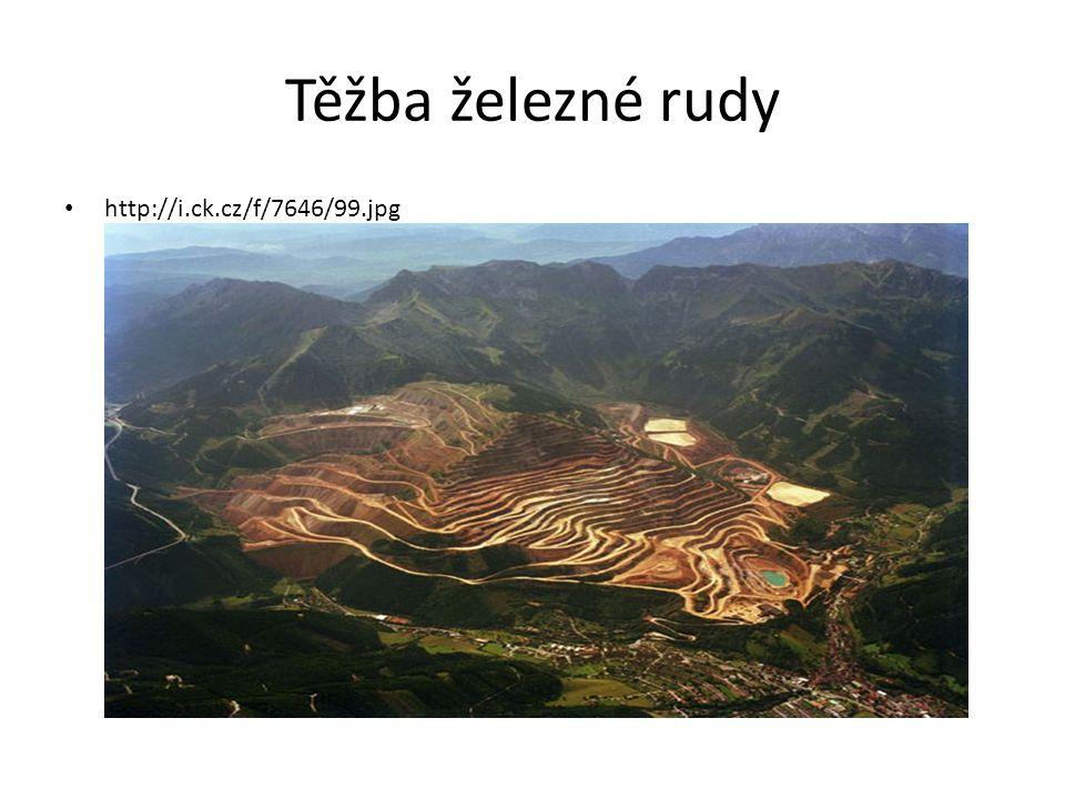 Těžba železné rudy http://i.ck.cz/f/7646/99.jpg
