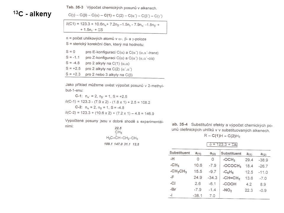 13 C - alkeny