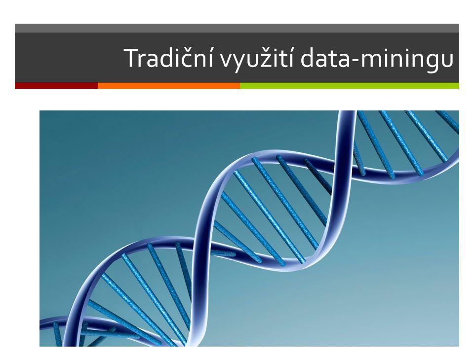 Tradiční využití data-miningu