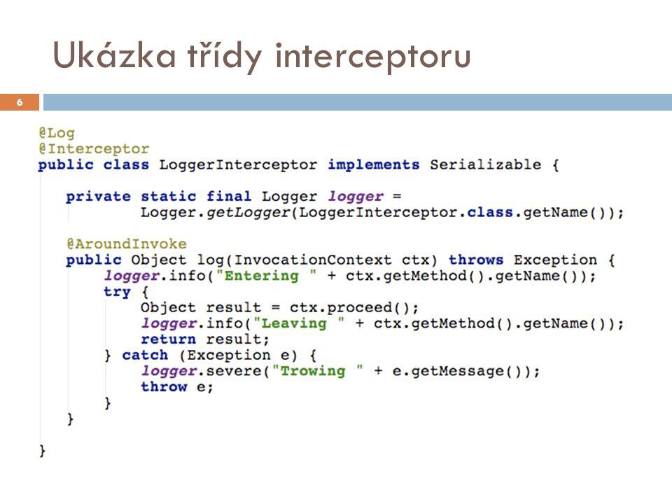 Poznámky  Aplikace musí vždy obsahovat beans.xml v adresáři WEB-INF  Pokud bean patří do pasivovatelného scope (např.