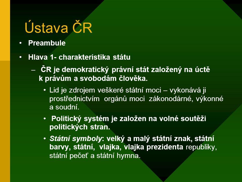 1989 – r. 1992 po 17. listopadu 1989 byl z ústavy odstraněn článek 4 o vedoucí úloze KSČ Následoval zápas o název republiky. Byl to tzv. boj o pomlčku