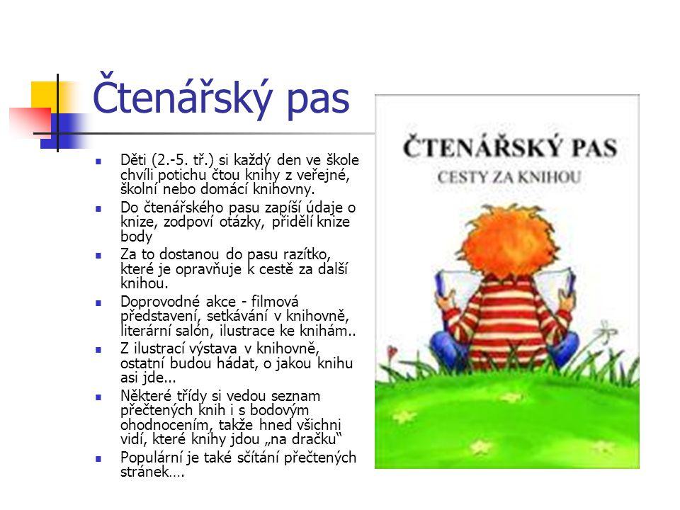 Čtenářský pas Děti (2.-5.