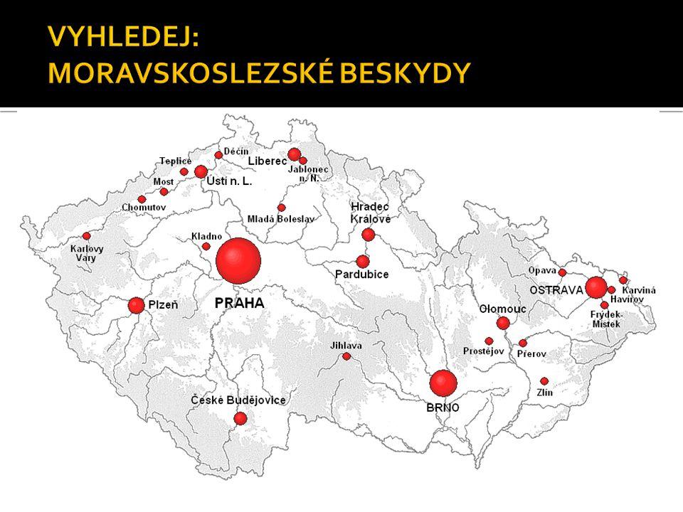  Krkonoše leží v severních Čechách a zasahují až do Polska.
